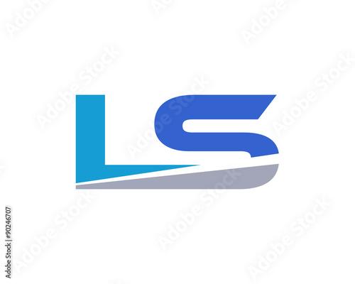 quotls letter logo modernquot stock image and royaltyfree