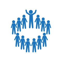 Meeting Business icon, people symbol