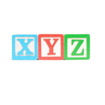 XYZ letters