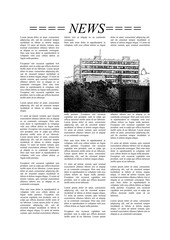 Newspaper page with Lorem Ipsum text