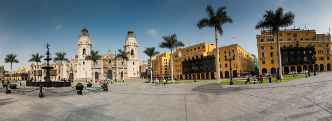archiepiscopal palace in Lima Peru