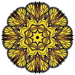 beautiful vector circular background