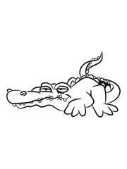Crocodile funny weed joint sunglasses