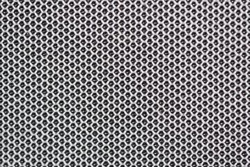 Gray fabric netting background, texture,
