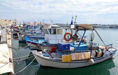 Fischkutter bei Ierapetra, Kreta