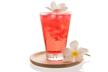 red sweet drink