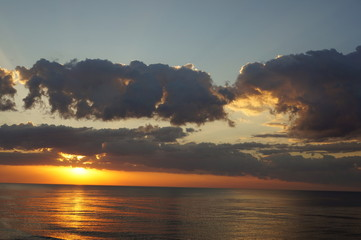 Fototapeta Sun set obraz