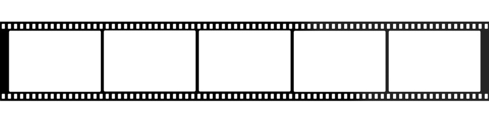 Film strip roll for photo or video.