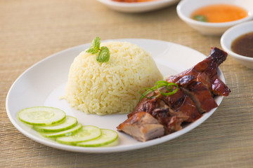 asian duck rice