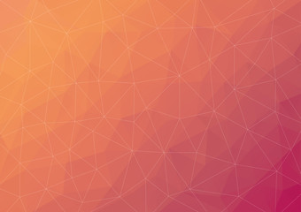 Abstract Polygon Vector Background Pattern