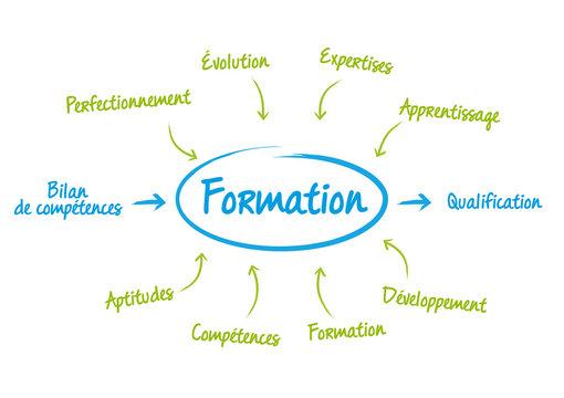Formation Professionnelle - Schéma présentation