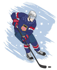 ice hockey player american