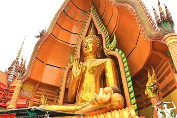 Big Buddha Statue at Wat Tham Sua Temple ,Kanchanaburi Province