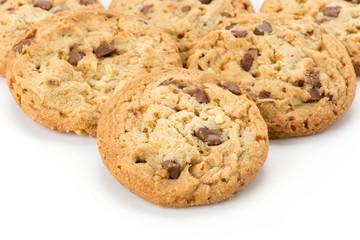 milk chocolate toffee almond cookies