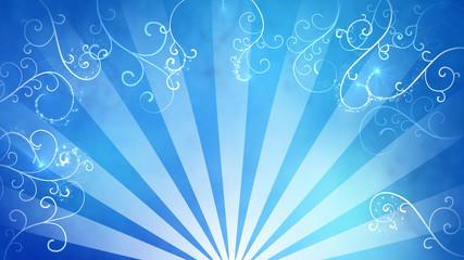 blue fancy background