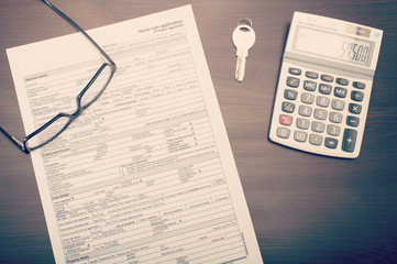 Home loan application form