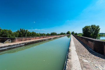 Canal de Garonne in Moissac, France