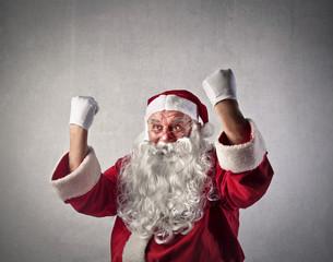 Joyful Santa Claus