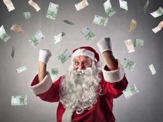 A rich Santa Claus