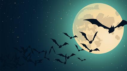 Vector Halloween background