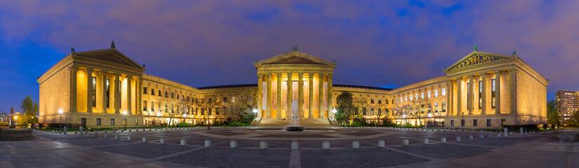 Panorama of Philadelphia Pennsylvania Museum of Art