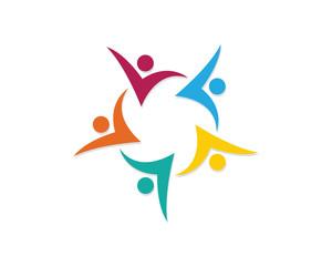 Community Care Adoption Logo template