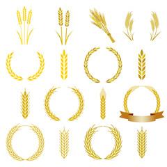 麦 アイコン フレーム