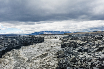 Fototapete - Icelandic river