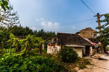 abriß Häuser in Jiangyin