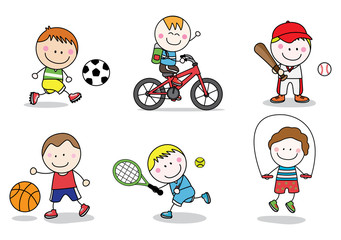 Kids sport collection