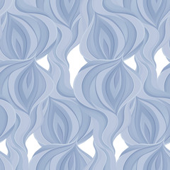Abstract seamless blue pattern