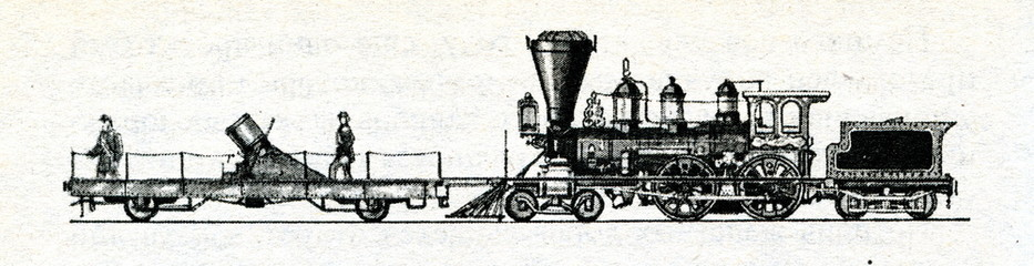 American 200 pound railway mortar (1862)