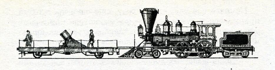 American 200 pound railway mortar (1862)