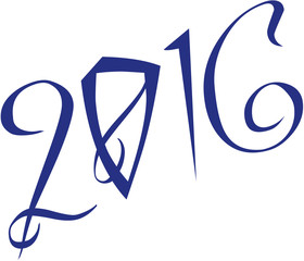 2016 gretting sign