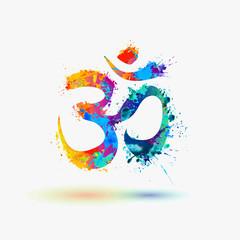 Om. Hindu lucky symbol