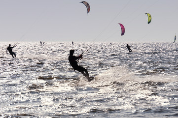 Kitesurfer in St. Peter-Ording