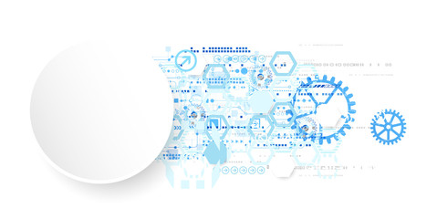 Abstract background  technology communication concept.