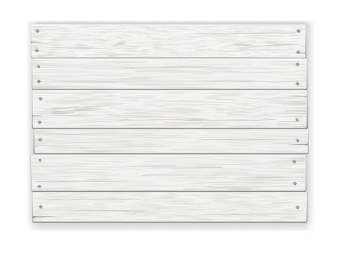 white wooden sign