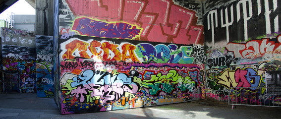 London - Graffiti on Skate Park #1