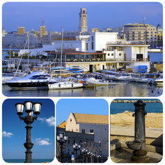 Promenade of Bari. Apulia - Italy