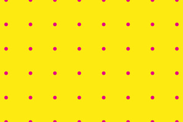 Dotted, Pop Art background with circles pink colored