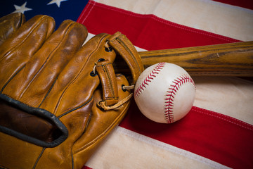 Old Glory and the National pastime