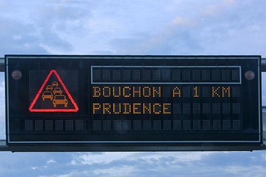 Bouchon, prudence