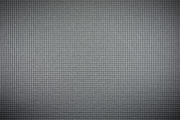 horizontal gray color image of yoga mat texture background.