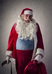 Bored Santa Claus