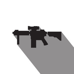 M4 special forces rifle icon