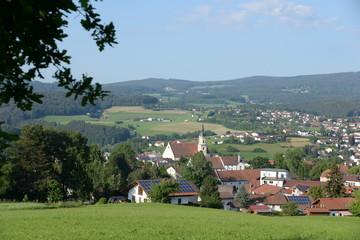 Fototapete - Viechtach, Bayrischer Wald