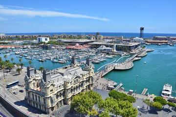Barcelona marina view