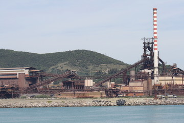 Piombino, Italy - Industrial Port of Piombino