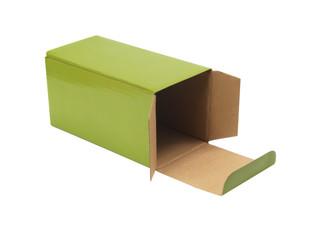 Kartonbox, Leer